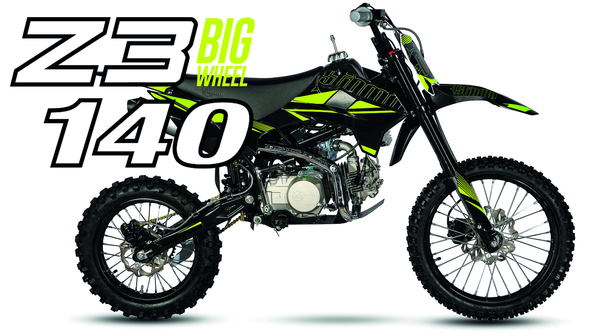 Z3 Big Wheel 140 cc pit bike