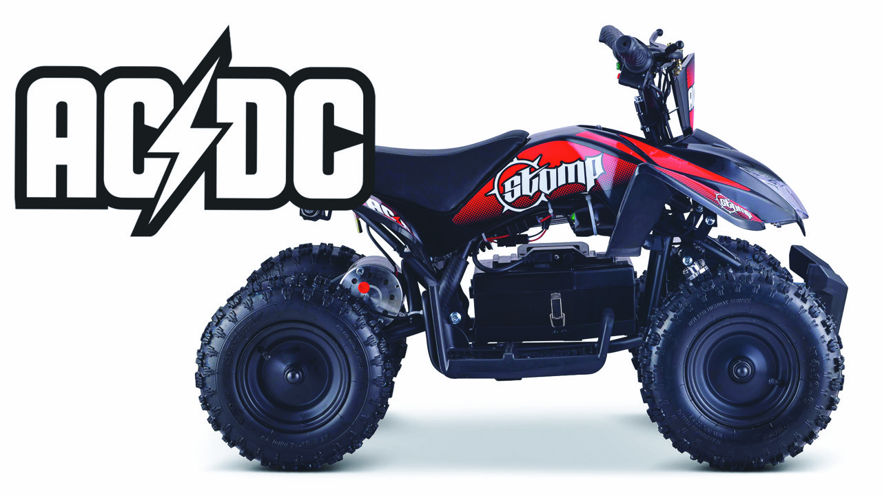 ACDC electric quad ATV bikes