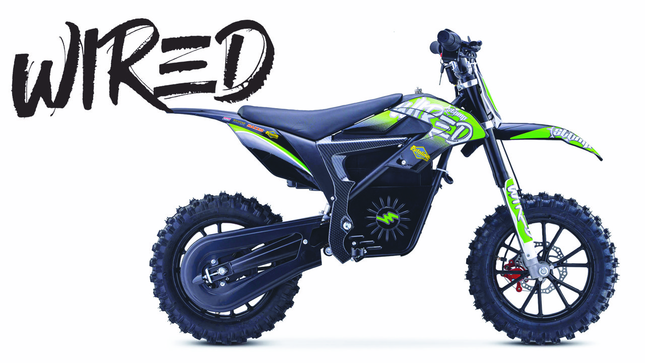 Wired Stomp electric pit bikes